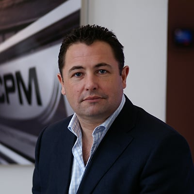 Photo of Mike Hughes - CPM Group Companies - increasing diversity