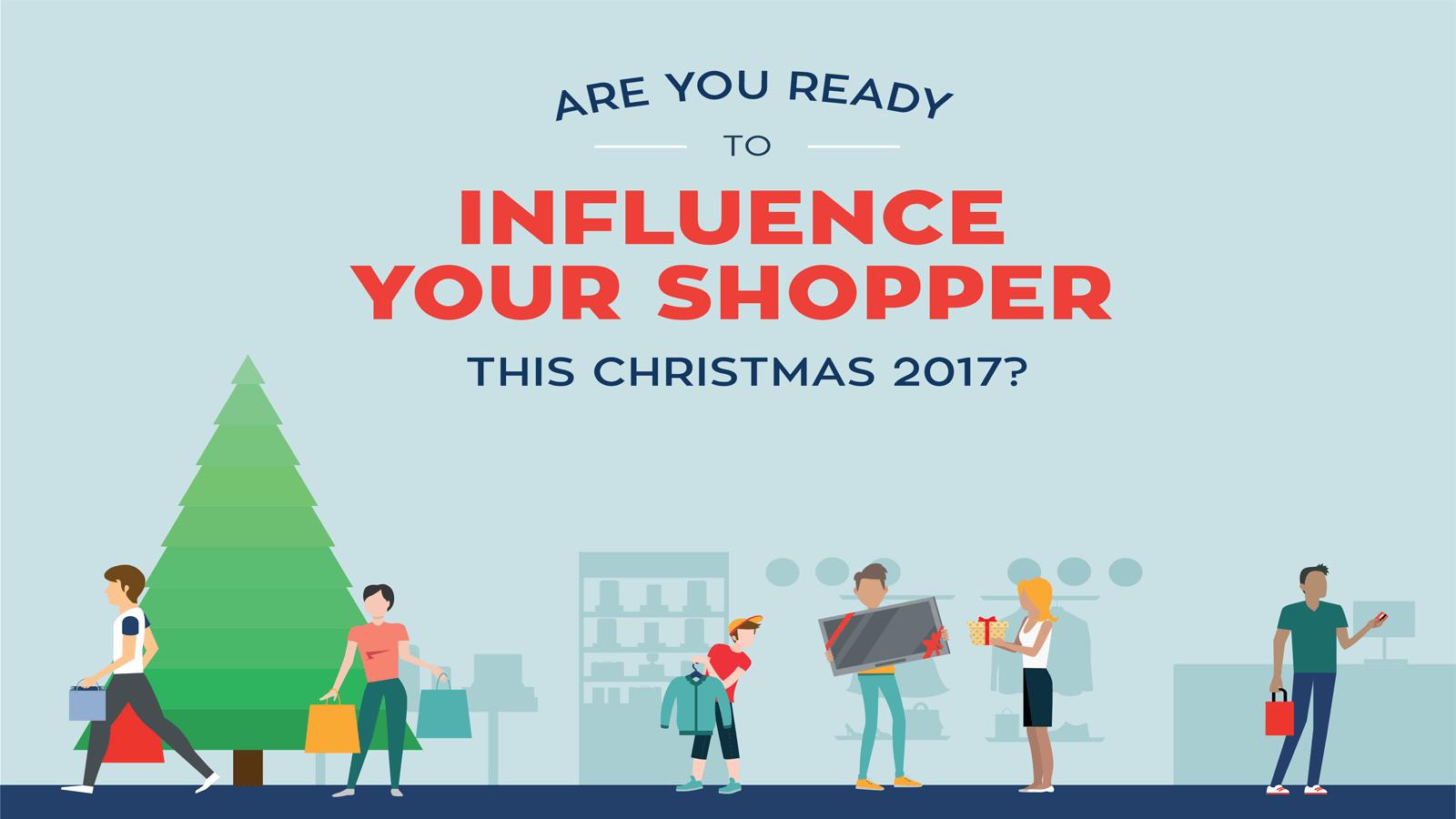 Christmas Shopping infographic